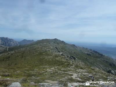 Maliciosa - Sierra de los Porrones [Serie Clásica] grupo montaña  senderismo en la pedriza senderi